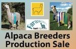 Alpaca Breeders Production Sale.