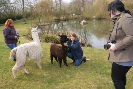 When Sheep, Goats & Alpaca magazine came to visit